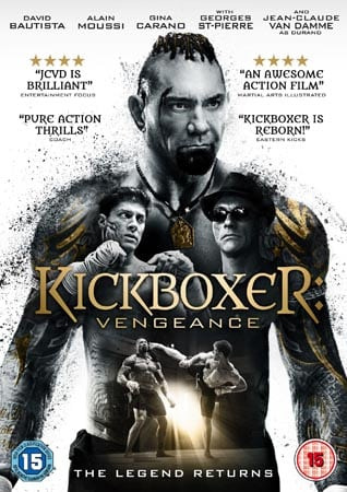 Win Kickboxer: Vengeance on DVD