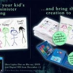 Share Your Kids Creepy Drawing and Win Cool Prizes To Celebrate Release of LIGHTS OUT - Out Now