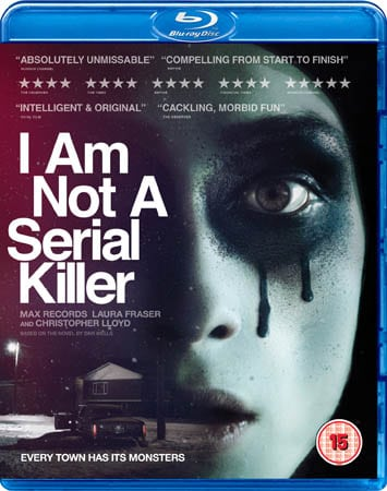 Win I Am Not A Serial Killer Bluray