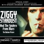 ZIGGY STARDUST & THE SPIDERS FROM MARS To Screen In Cinemas on 7th March 2017 For One Night Only