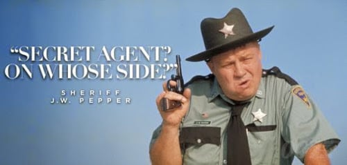 Sad news for 007 fans clifton james aka sheriff j w for Portent jw pepper