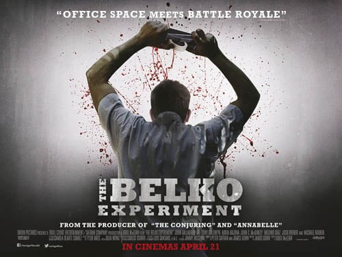Win The Belko Experiment Poster and T-Shirt