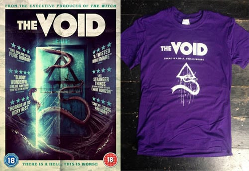 Win The Void t-shirt and digital copy