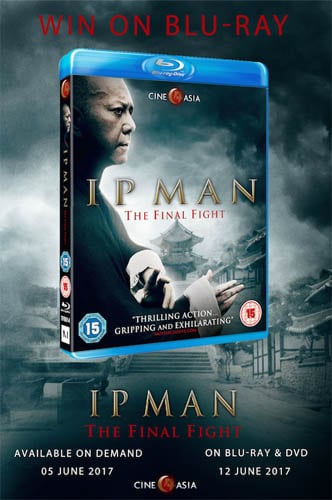 Win Ip Man: The Final Fight on Blu-Ray