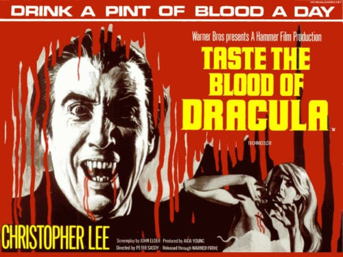 DOC'S JOURNEY INTO HAMMER FILMS #95: TASTE THE BLOOD OF DRACULA