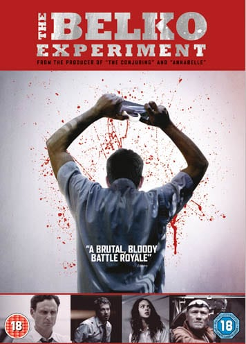 Win Belko Experiment DVD bundle