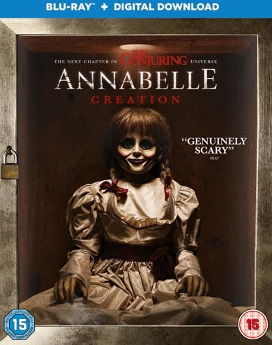 Win Annabelle Creation on Blu-Ray