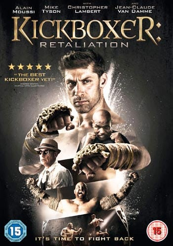 Win signed copy of Kickboxer Retaliation on DVD
