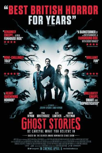 Win a signed Ghost Stories poster