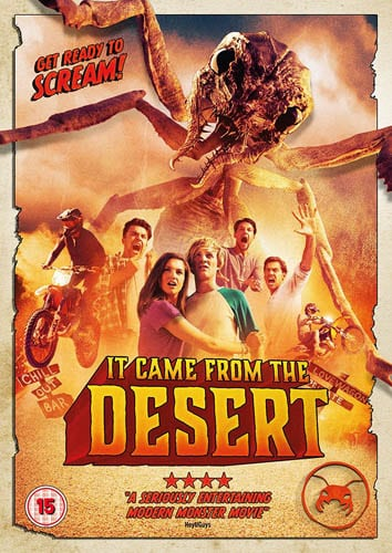 Win It Came From the Desert on DVD