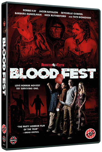 Win Blood Fest on DVD