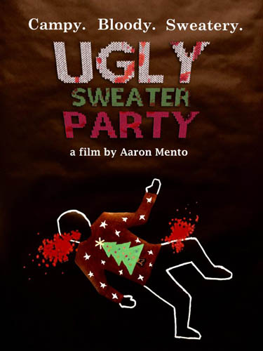 ugly sweater party poster