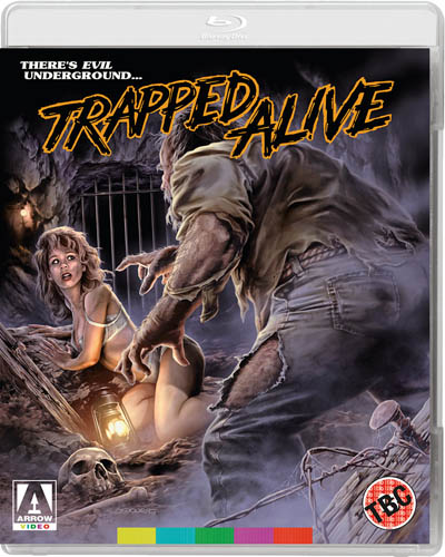trapped alive bluray