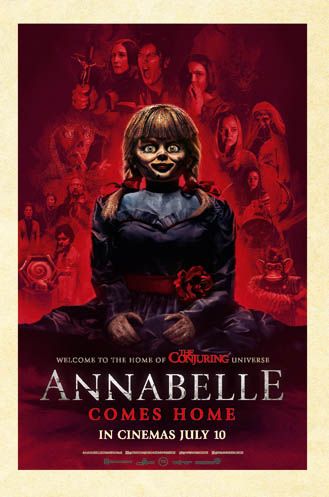 Win Annabelle Comes Home merchandise