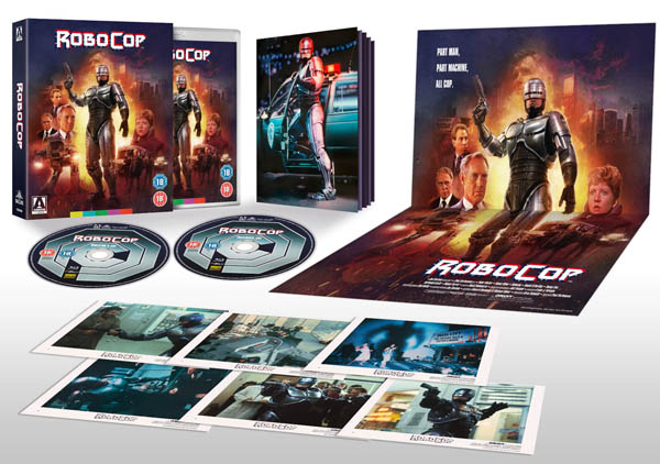 robocop limited edition bluray