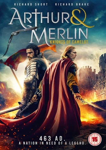 Win Arthur & Merlin: Knights of Camelot on DVD