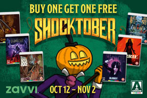 Arrow Video Shoctober BOGOF