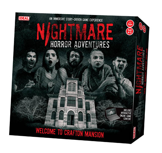 Win Nightmare Horror Adventures board game