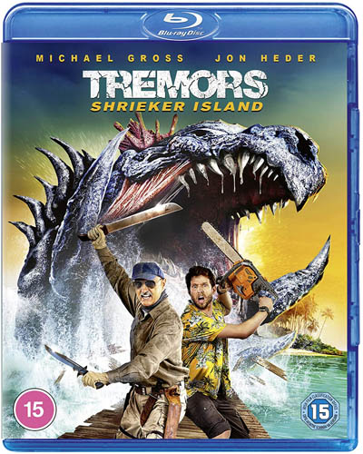 Win Tremors: Shrieker Island on Blu-Ray