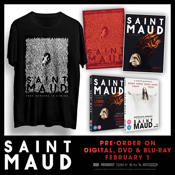 Win Saint Maud prize bundle