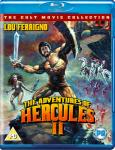 THE ADVENTURES OF HERCULES II [1985]: on Blu-ray and DVD now