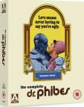 The Abominable Dr. Phibes - The Complete Dr. Phibes Blu-Ray on 16th June 2014