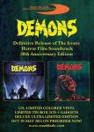 DEMONS [Claudio Simonetti]: 30th Anniversary Soundtrack review