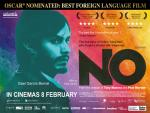 Oscar-nominated NO Available on iTunes and OnDemand from March 8th for 2 weeks only!