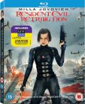 RESIDENT EVIL: RETRIBUTION (2012) - On DVD and Blu-Ray Now!