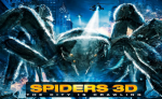SPIDERS 3D: on DVD and 3D Blu-ray 14th October