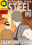 CDCOMICS Craig Daley Produces STAINLESS STEEL Comic For Sheffield's 100 Years Anniversary in April