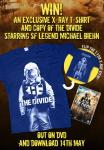Win A Copy of THE DIVIDE on DVD and a Limited Edition THE DIVIDE T-Shirt
