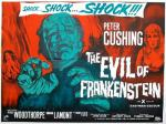 DOC'S JOURNEY INTO HAMMER FILMS #67: THE EVIL OF FRANKENSTEIN [1964]